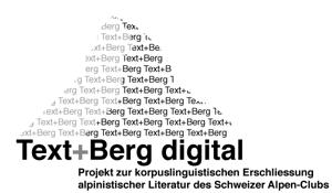 Logo Text+Berg digital