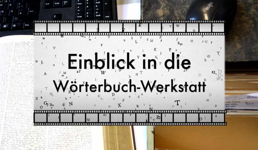 Wörterbuch-Werkstatt