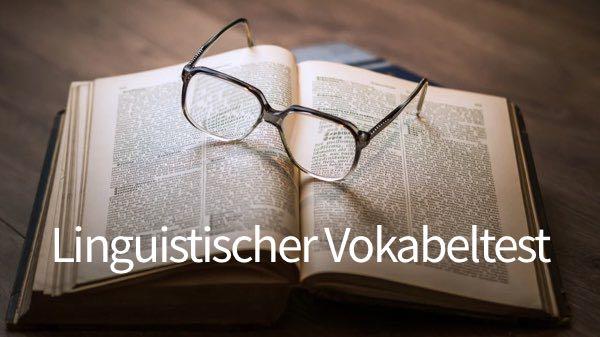 Linguistischer Vokabeltest