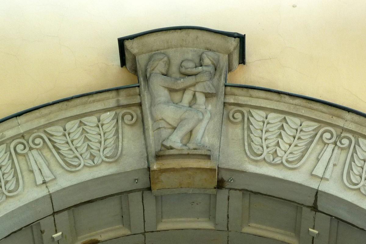 Schlussstein in Dresden