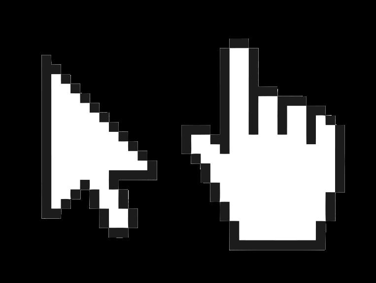 Cursor in zweierlei Gestalt