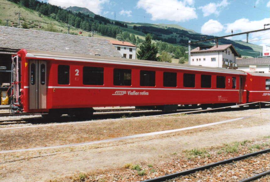Eisenbahnwaggon für Personen