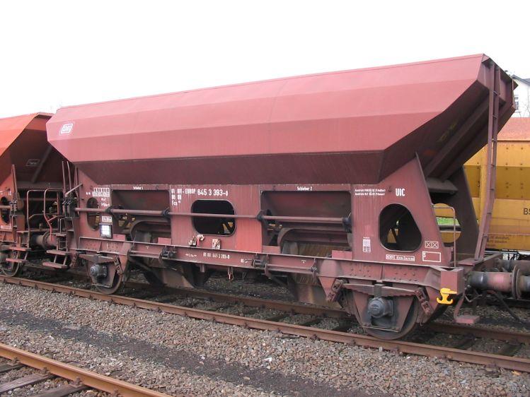 Eisenbahnwaggon für Schüttgut