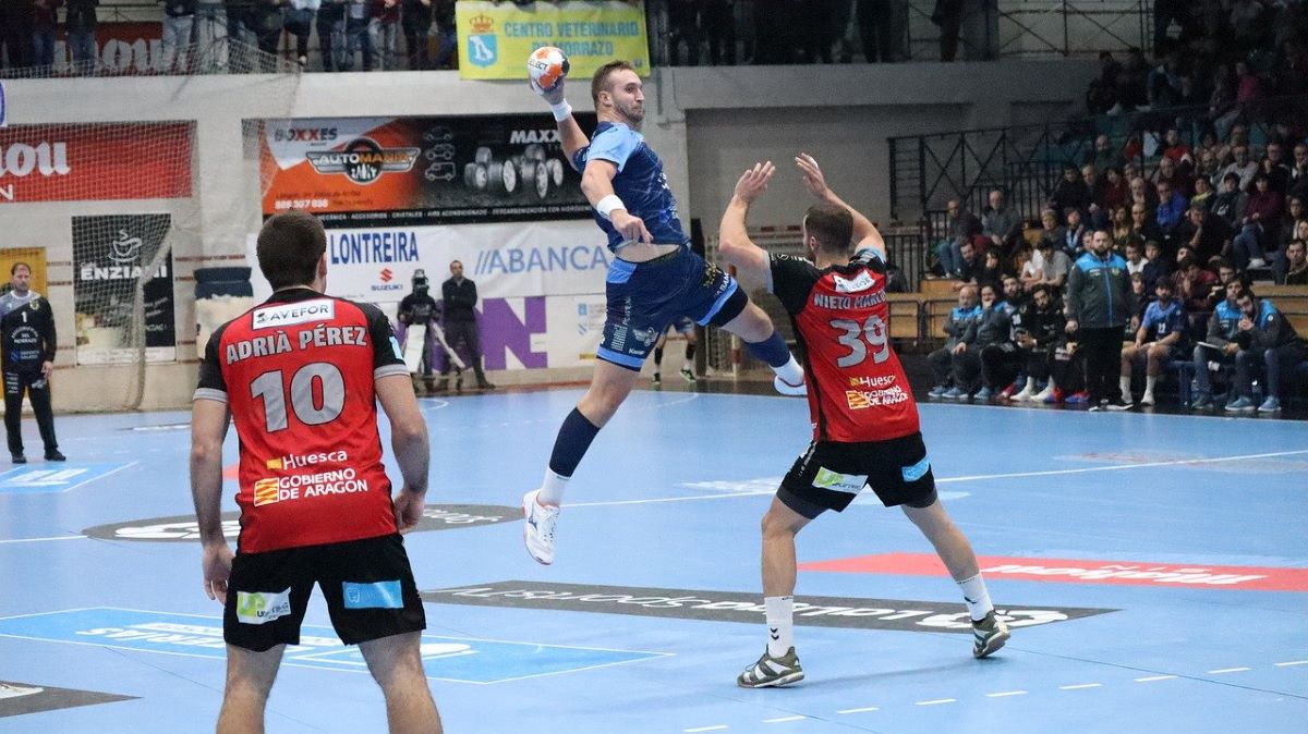 Sprungwurf im Handball