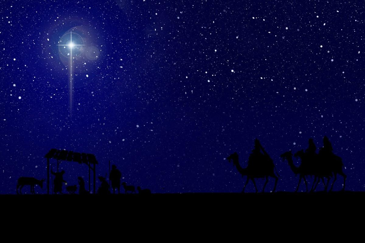 Weihnachtsstern über Bethlehem