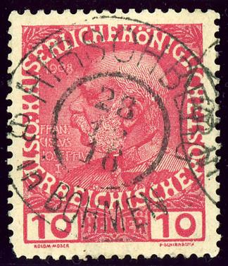 Zehner (10-Heller-Briefmarke)