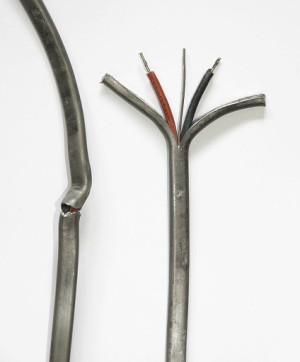 Kabel mit Bleimantel