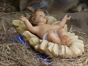 Figürliche Darstellung des Christkindes