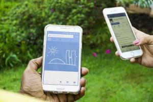 Smartphones in Benutzung