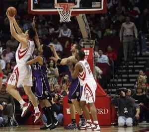 Sprungwurf im Basketball