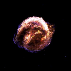 Keplers Supernova, Überreste