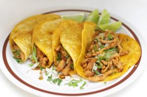 Tacos, zusammengeklappt