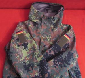 Tarnjacke der Bundeswehr