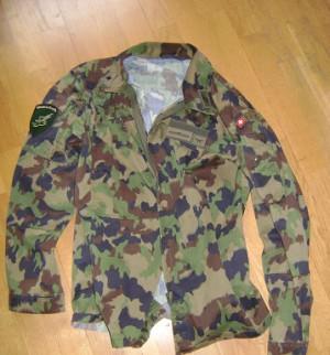 Tarnjacke der Schweizer Armee