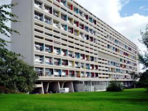 Das Berliner Corbusierhaus, eine typische Wohnmaschine